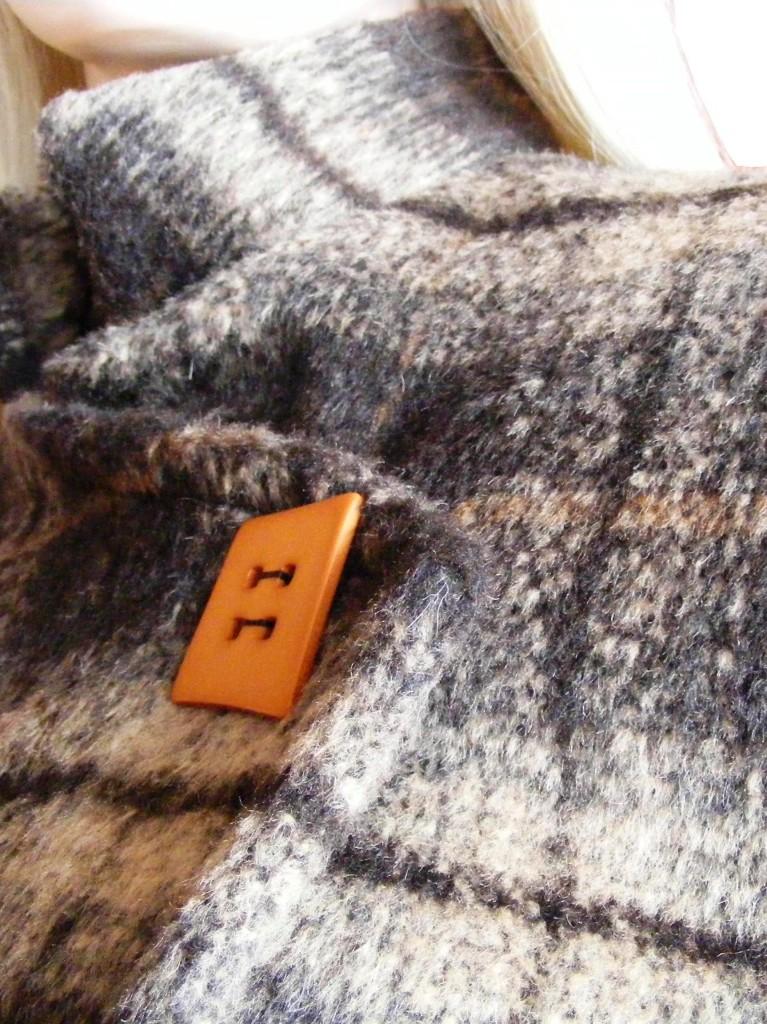 Fotografie pro model – Zimní kabát sestojáčkem