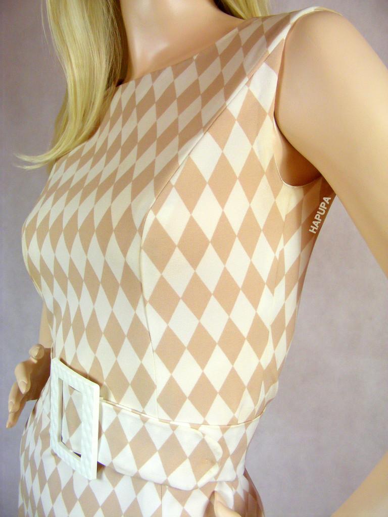 Šaty bílobéžové