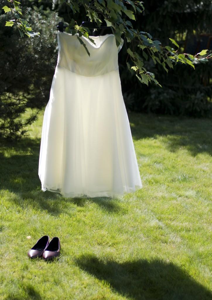 Fotografie pro model – Korzetové šaty skabátkem