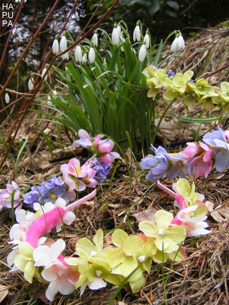Květinové čelenky