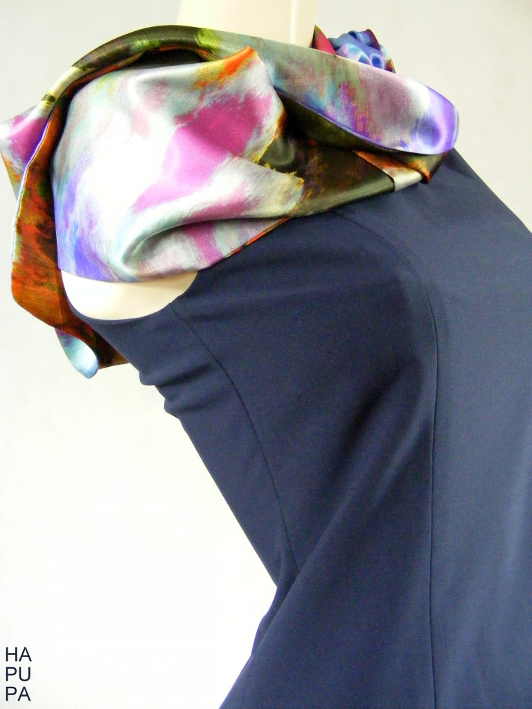 Fotografie pro model – Šaty sesaténovými vsadkami