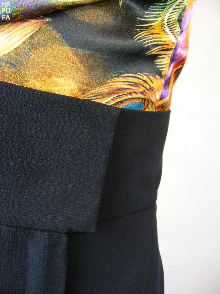 Fotografie pro model – Top ačerné kalhoty