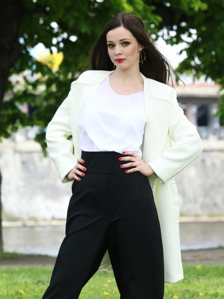 Fotografie pro model – Černo bílý outfit