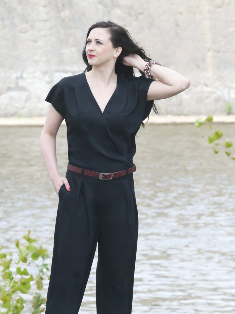 Fotografie pro model – Černý overal