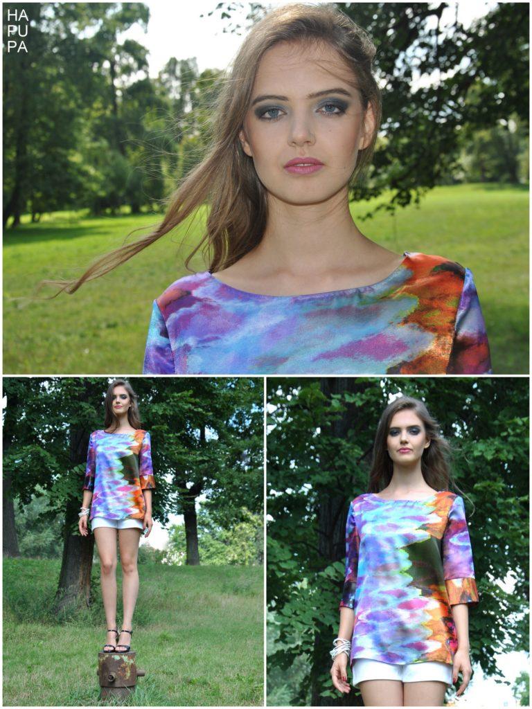 Fotografie pro model – Saténová košile