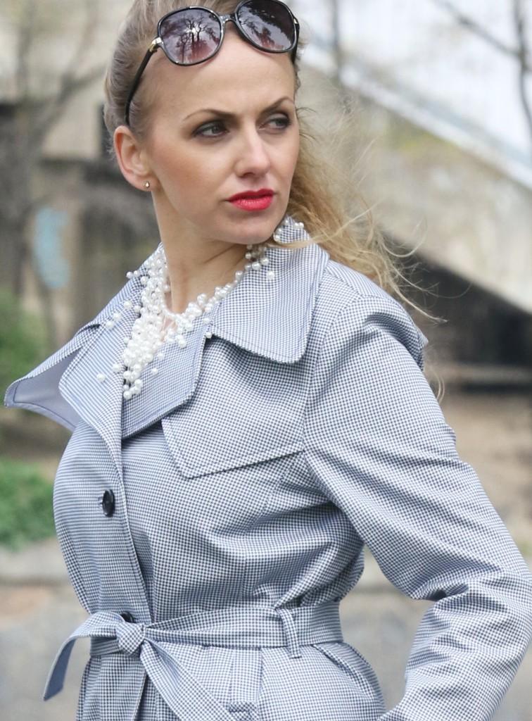 Pepito kabát abílé šaty