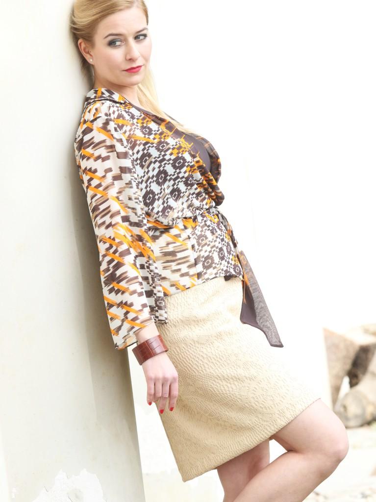 Halenka akrajková sukně