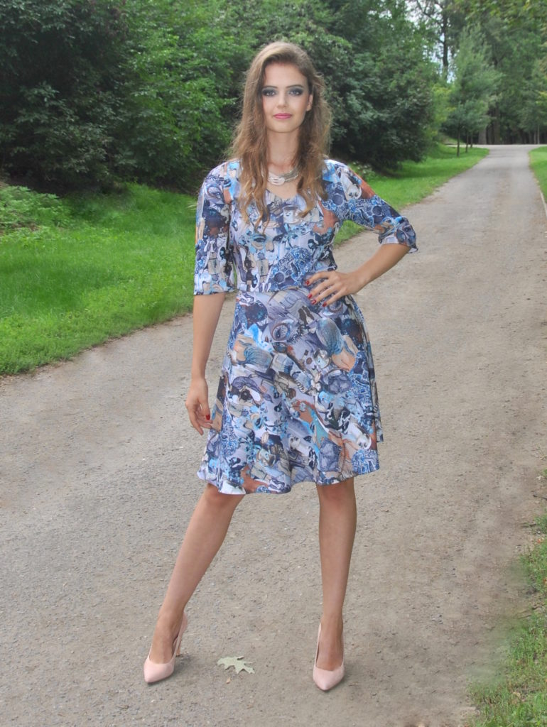 Fotografie pro model – Krátké šaty