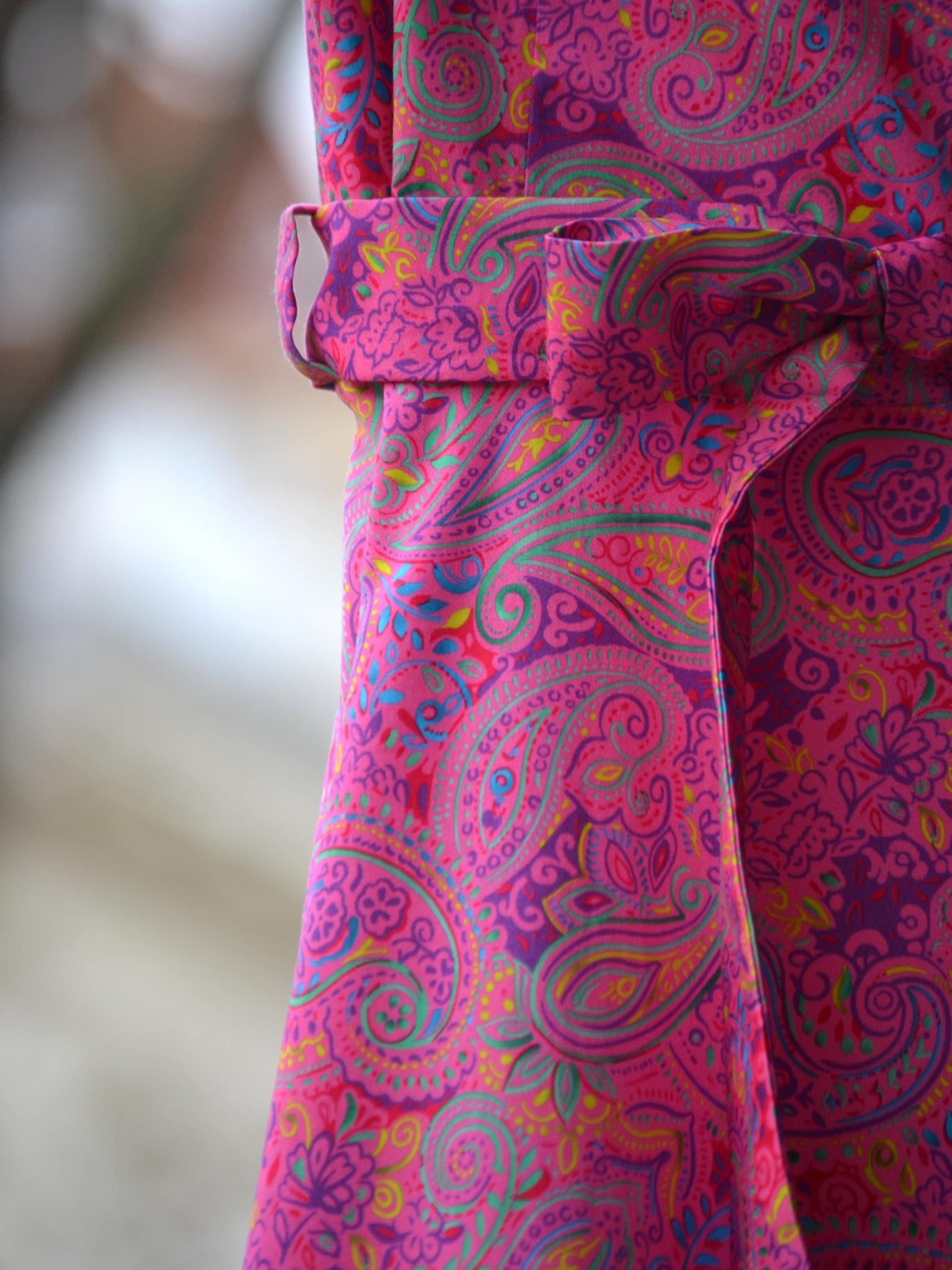 Fotografie pro model – Růžové šaty