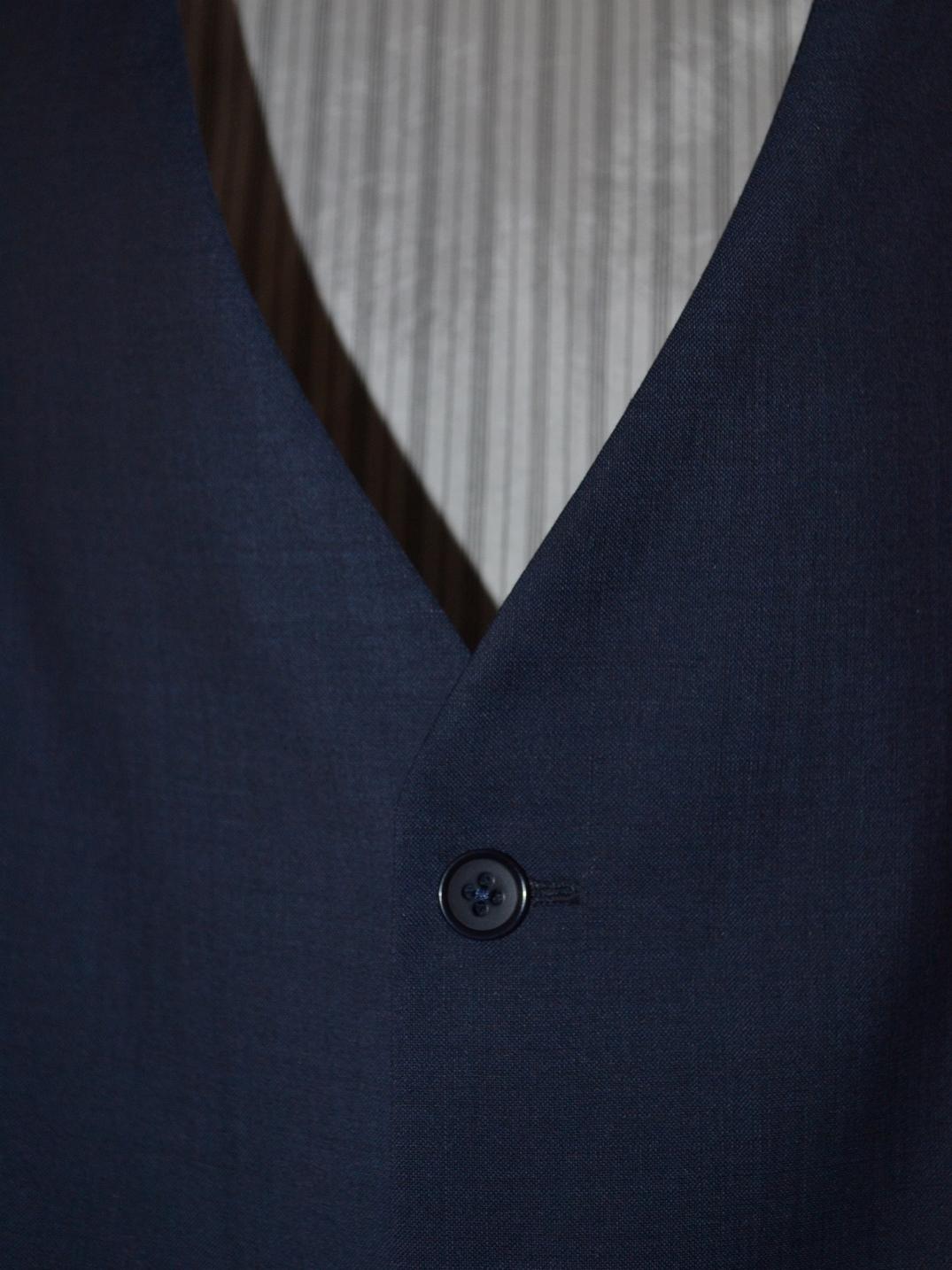 Fotografie pro model – Pánská obleková vesta