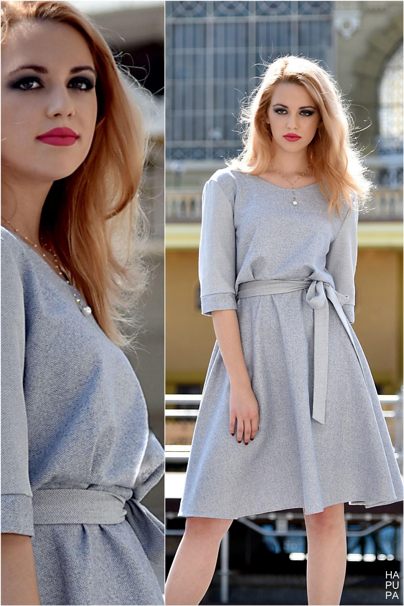 Fotografie pro model – Světlemodré šaty