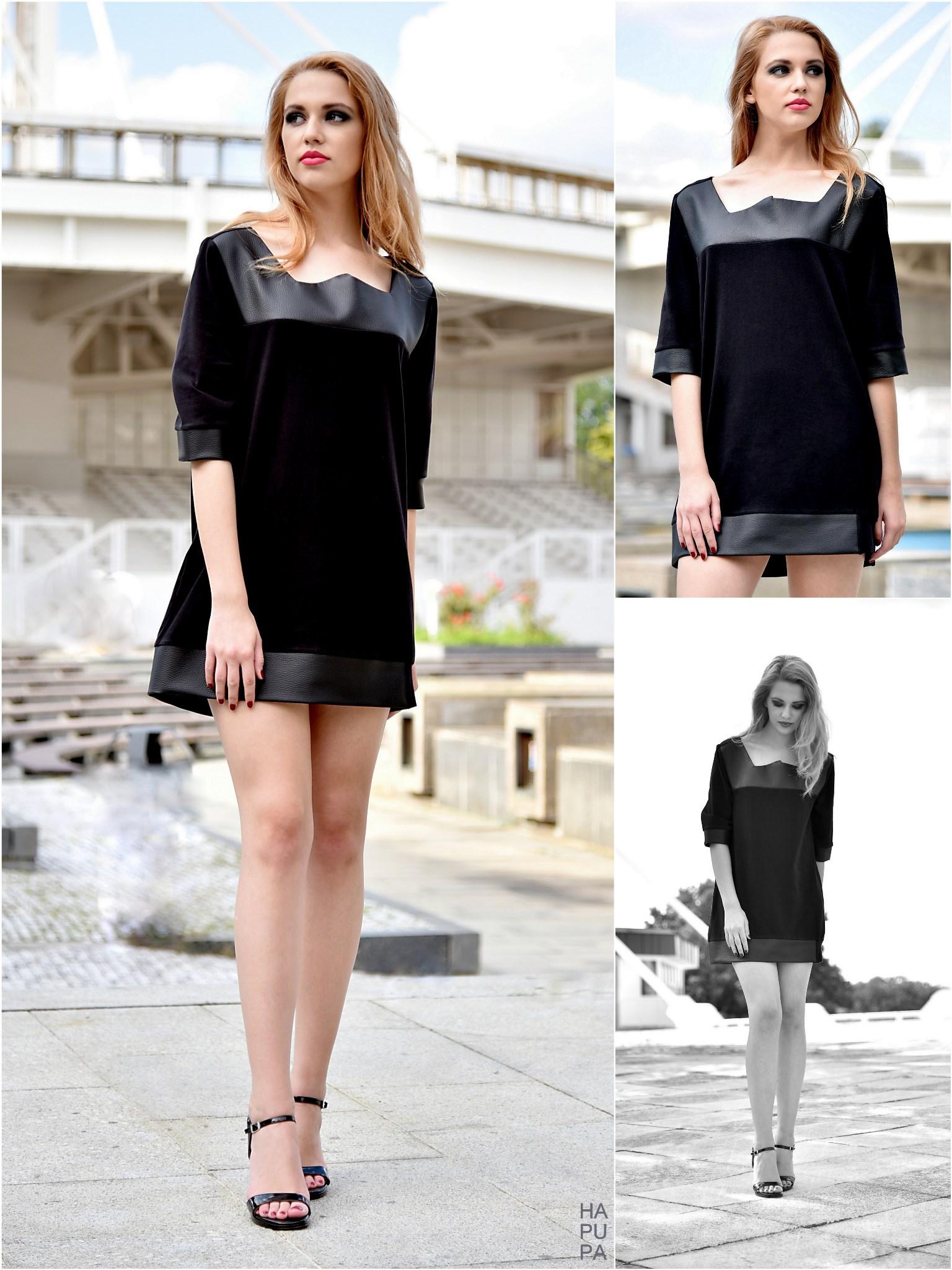 Fotografie pro model – Šaty skoženkovými detaily