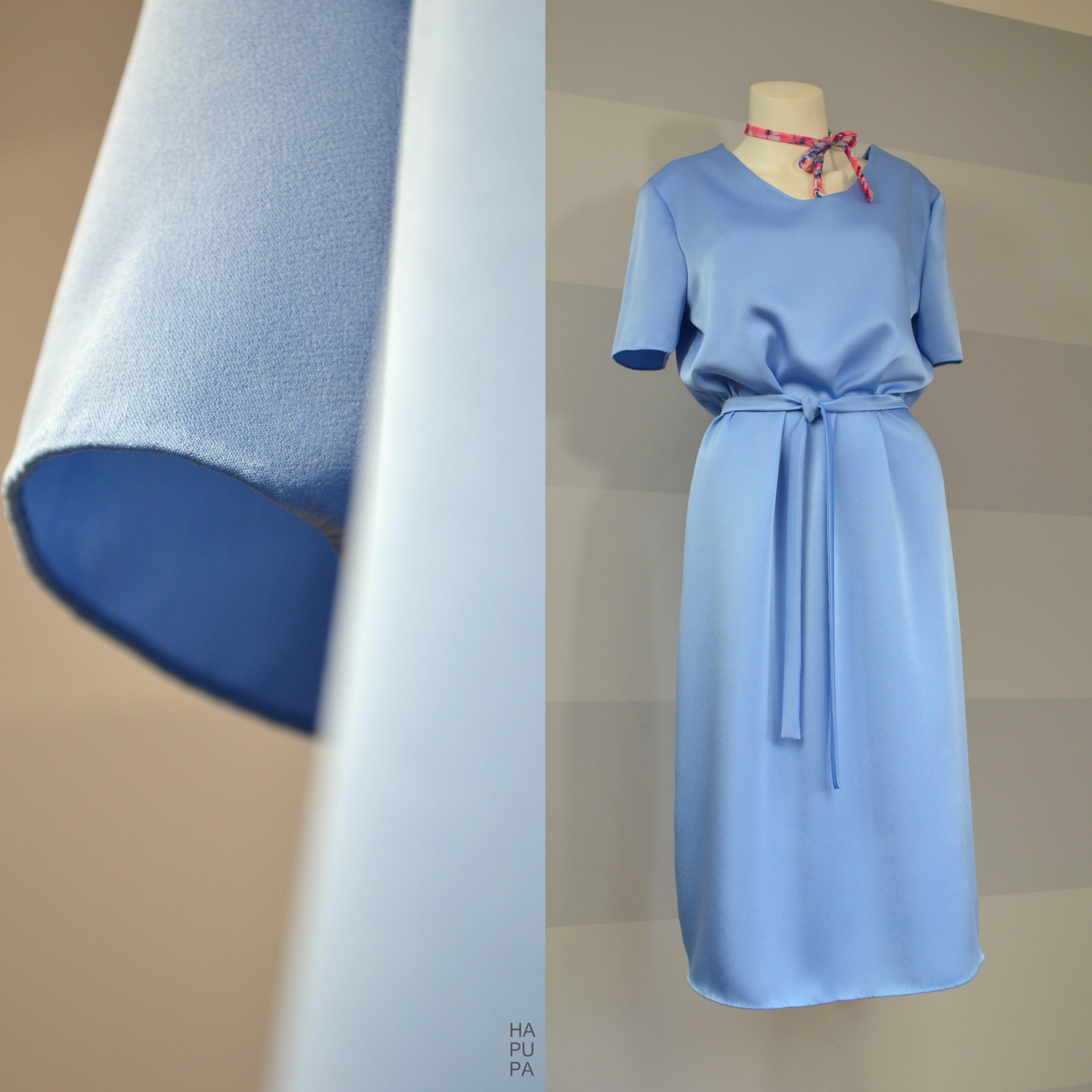 Fotografie pro model – Blankytně modré šaty